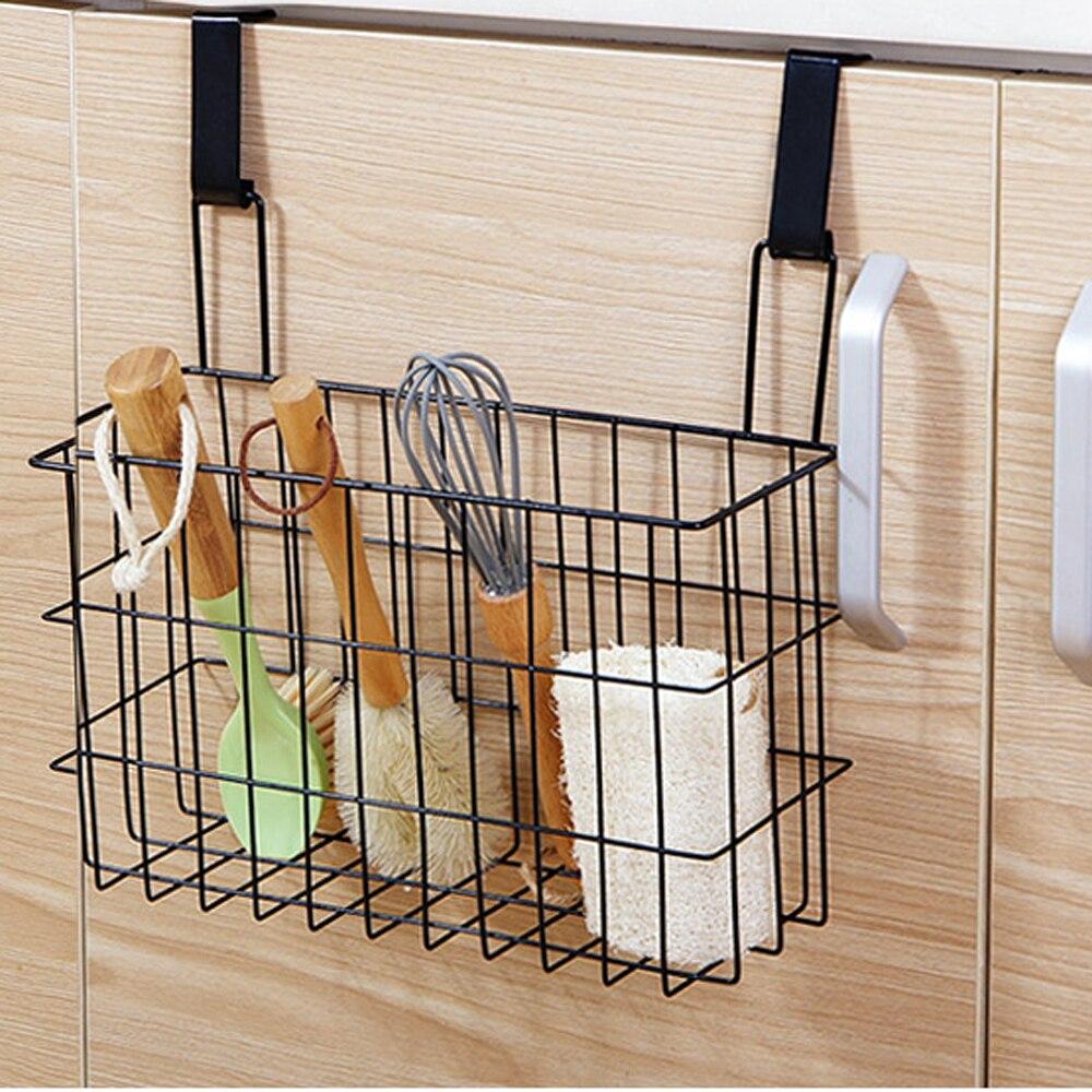 Cabinet Kitchen Bathroom Storage Organizer Basket Rack Sandwich