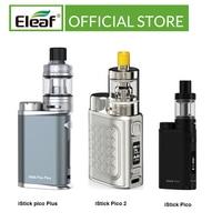 Original Eleaf iStick Pico Kit /iStick Pico Plus Kit 75W Max Top llenado caja de cigarrillo electrónico Mod Vae