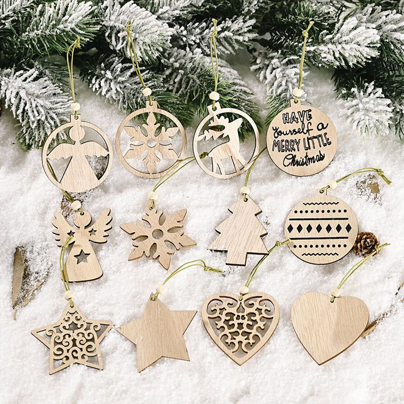 Holiday Time Clear Glass Christmas Tree Ornaments Assorted Styles 12pcs New