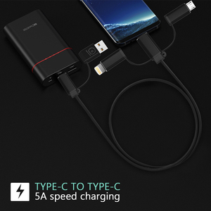 Image 5 - 5Pcs 5A 4 in 1 USB Kabel für Handy Micro USB Typ C Ladegerät Kabel für iPhone 7 XR XS 11Pro Huawei Schnelle Daten Ladekabel