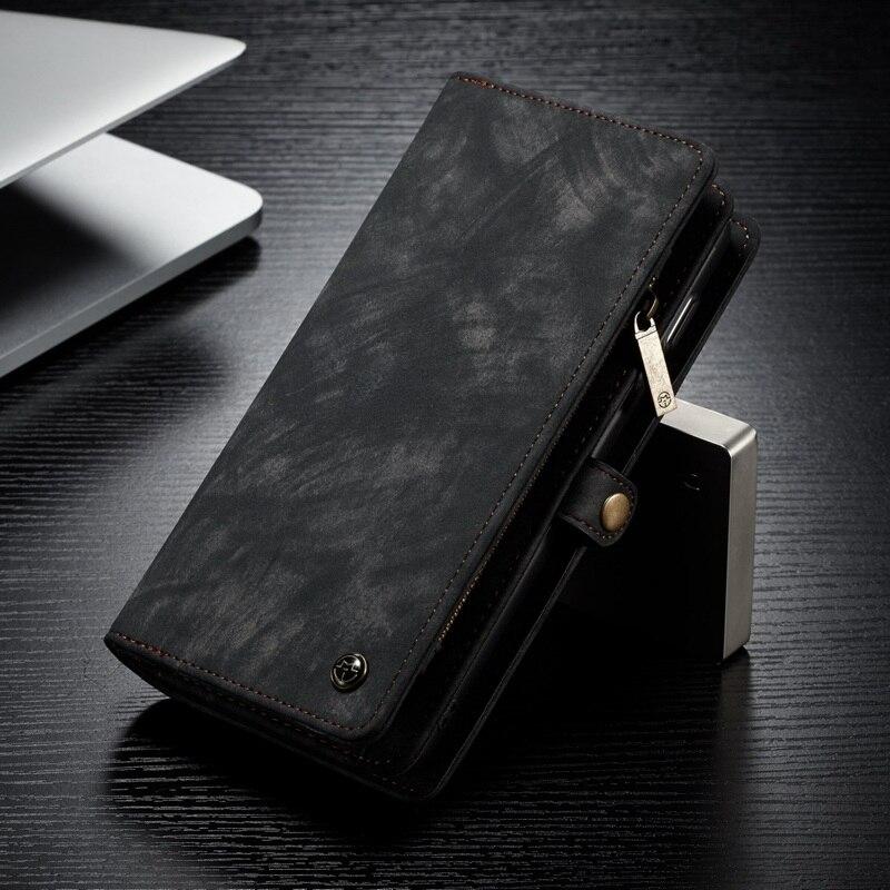 En cuir Téléphone étui pour Samsung Galaxy S8 S9 S10 5G Plus Note 8 9 Étui Portefeuille Coque pour Samsung Galaxy S10e S7 Cas De Bord