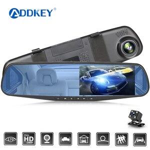ADDKEY Car Dvr 4.3 Inch Camera