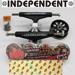 Независимая скейтборд Грузовики spitfire скейтборд колеса хорошие скейтборд подшипники ABEC-11 мобильный захват ленты профессиональный уровень