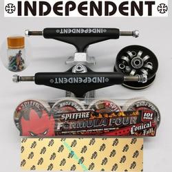 Unabhängige skateboard lkw spitfire skateboard räder gute skateboard lager ABEC-11 MOB grip band professionelle ebene