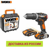 Electric Screwdriver WORX WX367 Power tools Screwdrivers Drill impact Drill impacts rechargeable