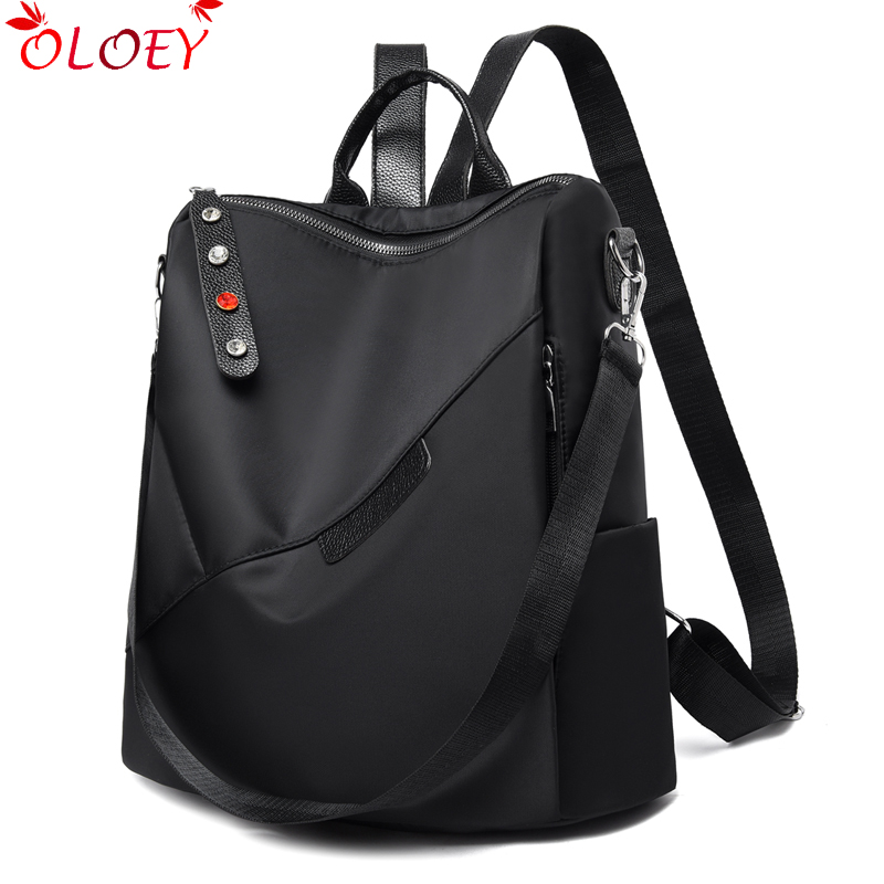 Brand Oxford Women's Backpack Fashion Women's Designer Bags For Teen Girls Waterproof Travel Backpack Women's Bag Bolsa Feminina