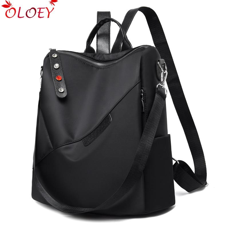 Brand Oxford Women's Backpack Fashion Women's Designer Bags For Teen Girls Waterproof Travel Backpack Women's Bag Bolsa Feminina