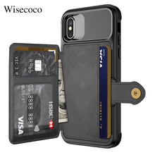 Multifunction Leather Wallet Case for Iphone 12 Mini 11 PRO Xs Max Xr X 8 7 6 6s Plus SE 2020 Stand Hybrid Silicone Bumper Cover