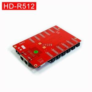 Image 2 - Huidu HD R512 كامل اللون تلقي بطاقة استبدال القديم HD R501 العمل مع HD C15C HD C35C HD A3 HD T901 إرسال
