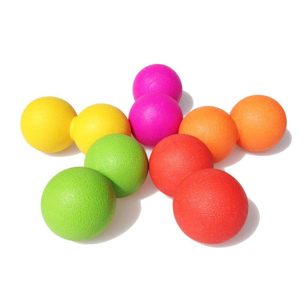 Siamese Fascia Ball Double Ball Peanut Massage Ball Rehabilitation Training Abdominal Muscle Spinal Relaxation Fitness Ball