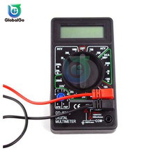 DT830B  Mini Multimeter LCD Digital Multimetro Volt Amp Ohm Tester Meter Voltmeter Ammeter With Probe