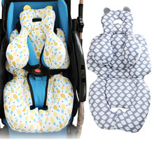 купить New Children Car Safety Seat Cushion Cotton Stroller Pad Baby Full Body Support Sleep Pad Mattresses Pillow Cover Chair Cushion по цене 957.43 рублей