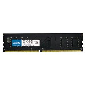 Image 4 - Elicks DDR4 RAM 4GB 8GB 16GB 2133MHZ 2400MHZ 2666V PC4 17000MHZ 19200MHZ 2666V Desktop DIMM memory RAM CL17 1.2V voltage