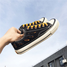 Fashion Summer Canvas Shoes Men Breathable Pleated Lace-up Casual Shoes All-matching Youth Leisure Non-slip Outdoor Sneakers cozulma women candy color breathable canvas shoes lace up fashion sneakers female non slip casual shoes size 35 40