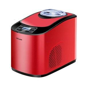 Image 2 - 220V 自動家庭用電気アイスクリームマシン多機能ソフトハードアイスクリームメーカー機商業 EU/AU /英国