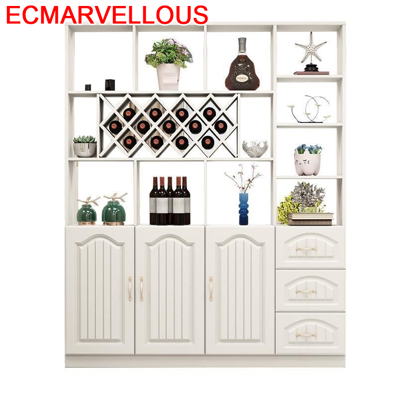 Meuble Mobilya Salon Shelves Vetrinetta Da Esposizione Meble Dolabi Rack Kast Mueble Shelf Bar Commercial Furniture Wine Cabinet