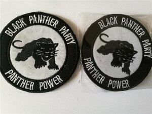 Эмблема пантера, Черная пантера, вечерние тактические патчи, нашивка с логотипом Wiki, нашивка на крючок и петлю