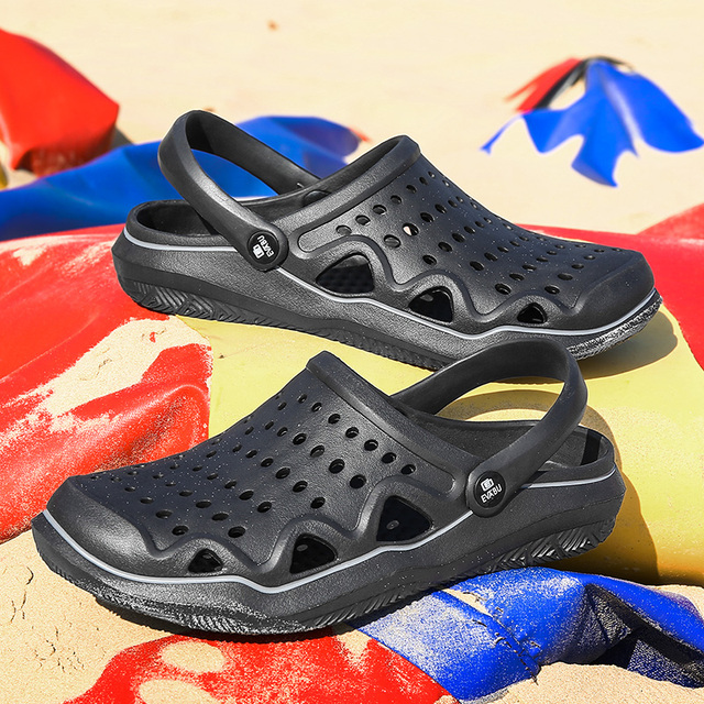 Men Beach Sandals Slippers Flip Flops Light Outdoor Summer Sandals