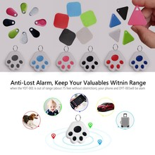Mini Antipérdida alarma cartera KeyFinder Etiqueta inteligente Bluetooth localizador GPS rastreador llavero perro niño ITag Tracker buscador