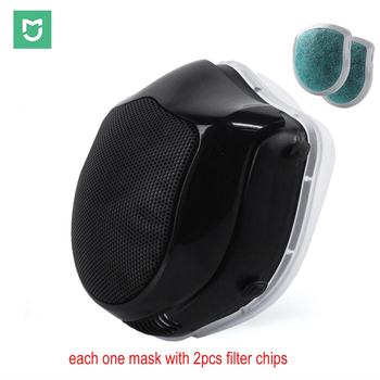 Mijia Youpin Q5S Electric Face Mask Medical With 2pcs Filter chips For Germ Protection Respirator