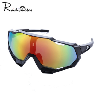 UV400 Outdoor Anti-wind Sport Sunglasses Eyewear Colorful Sports Cycling Sun Glasses Bicycle Men Women - discount item  52% OFF Cycling