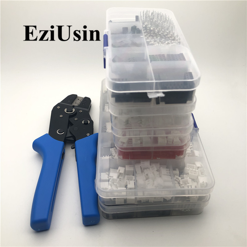 Terminal Crimping Pliers Tool For 2.54/2.0/2.5mm Dupont Xh2.54 TJC3 TJC8 SCN XHB PHD 5264 CH2.5 5051 SM2.54 Connector