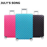Reizen Elastische Bagage Cover Protector Stretch Stof Rits Koffer Beschermende Covers Travel Accessoires Koffer Case