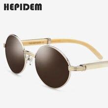 Новое высокое качество очки Рамка Для мужчин Круглые Солнцезащитные