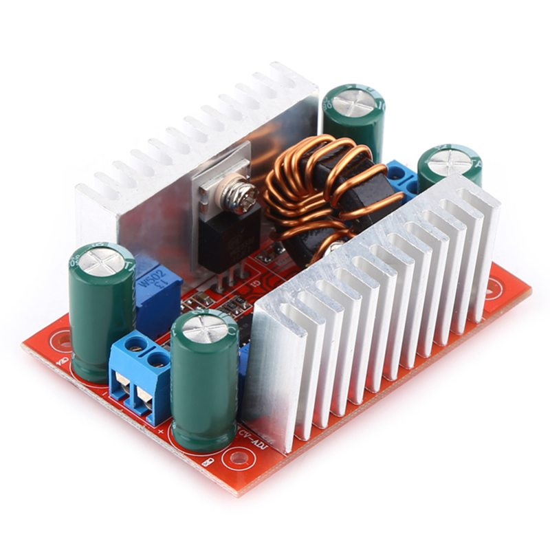 <font><b>400W</b></font> <font><b>DC</b></font>-<font><b>DC</b></font> Step-up Boost Converter Constant Current Power Supply Module LED Driver Step Up Voltage Module image