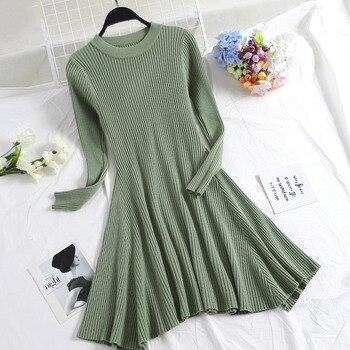Πλεκτό γυναικείο φόρεμα Φορέματα Ρούχα MSOW