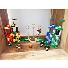 39147, 536 piezas de las cifras de ladrillo juguetes para los niños magia Quidditchs encuentro modelo Compatible con Legoingly 75956