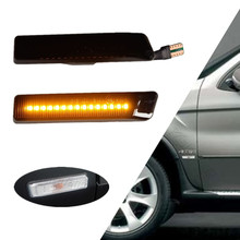 Dynamic Side Marker Light For BMW X5 E53 1999 2000 2001 2002 2003 2004 2005 2006 Flowing LED Turn Signal Indicator Blinker