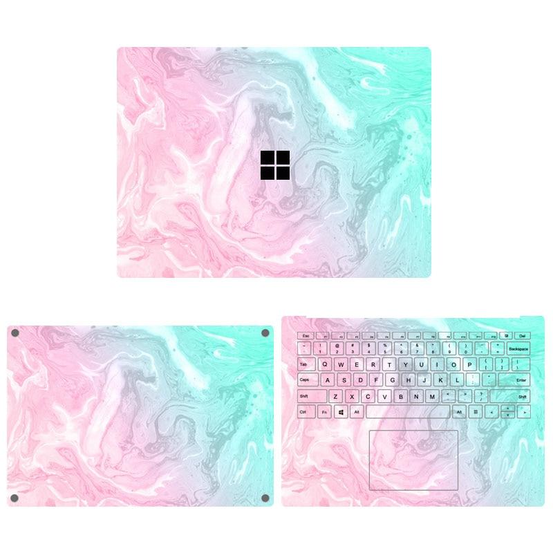 Autocollants pour ordinateur portable Microsoft Surface 3 13.5 15 2020, 1/2 pouces, haute qualité, couverture complète pour ordinateur portable 13.5