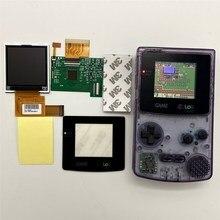 GBC LCD Hohe helligkeit LCD bildschirm für Gameboy FARBE GBC, stecker und spielen ohne schweißen und shell schneiden.