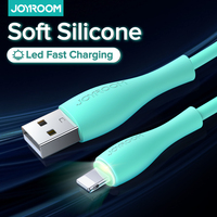 Joyroom LED 2m USB tipo C cavo di ricarica Micro per iPhone 12 11 Pro Max cavo di ricarica per telefono a ricarica rapida per Huawei Xiaomi