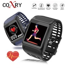 COXRY Sport Smart Watch Men OLED Image Screen Heart Rate Waterproof Smartwatch Android IOS Digital Wrist Watch Blood Pressure стоимость