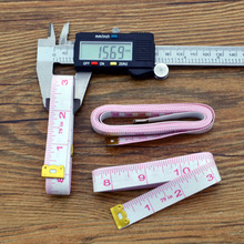 Body Measuring Clothing Ruler Sewing Tailor Tape Measure 2M Soft Sewing Ruler Meter Sewing Measuring Tape Double-sided Scale sewing tailor tape measure soft 1 5m sewing ruler meter sewing measuring tape body measuring ruler random color