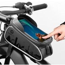 Yeskoo передняя рама велосипеда сумка для 6 дюймов мобильный