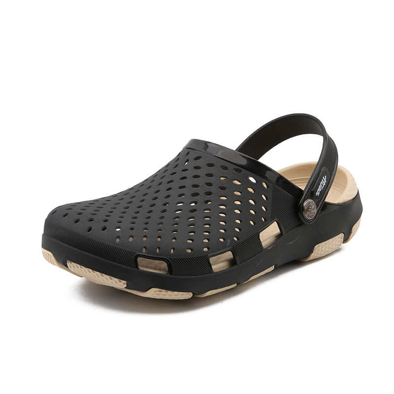 Summer Mens Catering Service Work Shoes Slippers Mens Chef Shoes Lightweight Sandal Garden Clogs