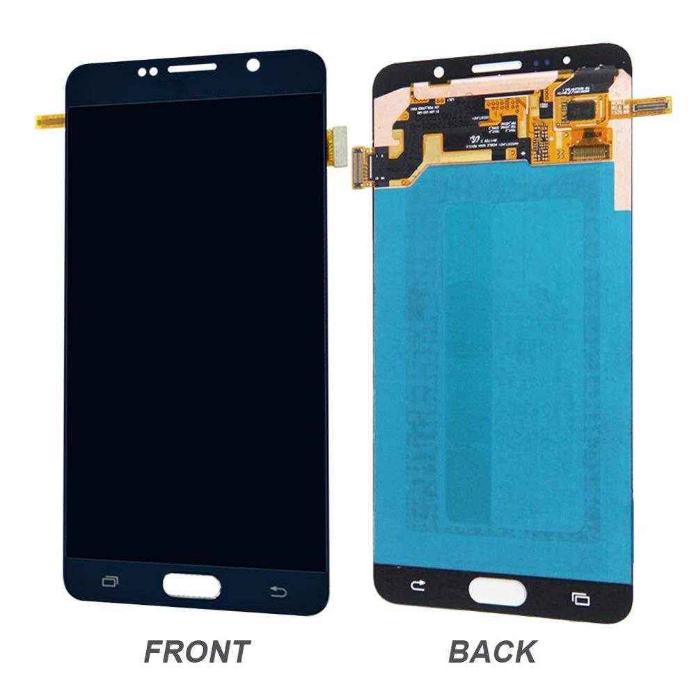 100% Super Amoled LCD For Samsung Galaxy Note 5 N920C Touch Screen Assembly NOTE5 SM-N920F With Burn Shadow LCD Display Screen