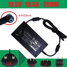 New19.5V 10.3A 200W 4.5*3.0 Mm Adaptor Daya AC Laptop Charger untuk HP ZBOOK 17 G3 TPN-CA03 A200A008L 815680-002 835888-001(China)