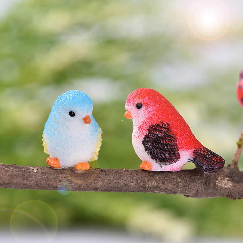 8 Chiếc Nhựa Nhỏ Vẹt Chim Hành Động Hình Hoạt Hình Mô Hình Động Vật Trang Trí Sân Vườn Hình Nóng Bộ Đồ Chơi Giáo Dục Cho Trẻ Em