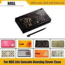 Cor múltipla Reparação Peças de Reposição de Habitação Completo Caso Shell Kit com Chave De Fenda para Nintend DS Lite N DSL