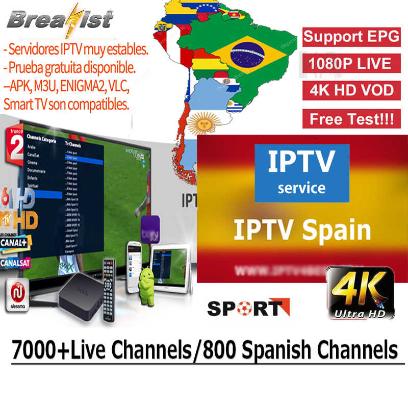 Breakist iptv Chile iptv tv box brazil iptv subscription tv box iptv Spain Argentina Comlombia Mexico Portuguese USA and Latin