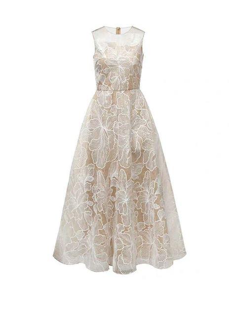VOOCIEC 2020 haut de gamme robe manuelle femmes élégant doux Hallow Out robe en dentelle Sexy fête princesse mince robes dété Vestidos