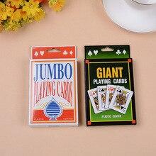 Большой размер игральные карты большие игральные карты магическое представление большой размер игральные карты Настраиваемые