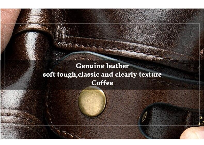alta qualidade couro genuíno leahter masculino embreagem