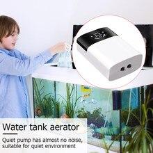 Dual-Purpose Zuurstof Pomp Praktische Usb Opladen Draagbare Uitlaat Lucht Steen Ultra Silent Air Compressor Voor Aquarium Aquarium