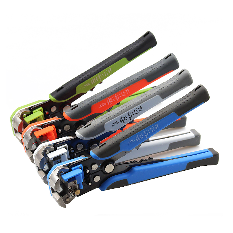 wire stripper HS-D1 Crimper Cable Cutter Automatic Wire Stripper Multifunctional Stripping Tools Crimping Pliers Terminal tool(China)