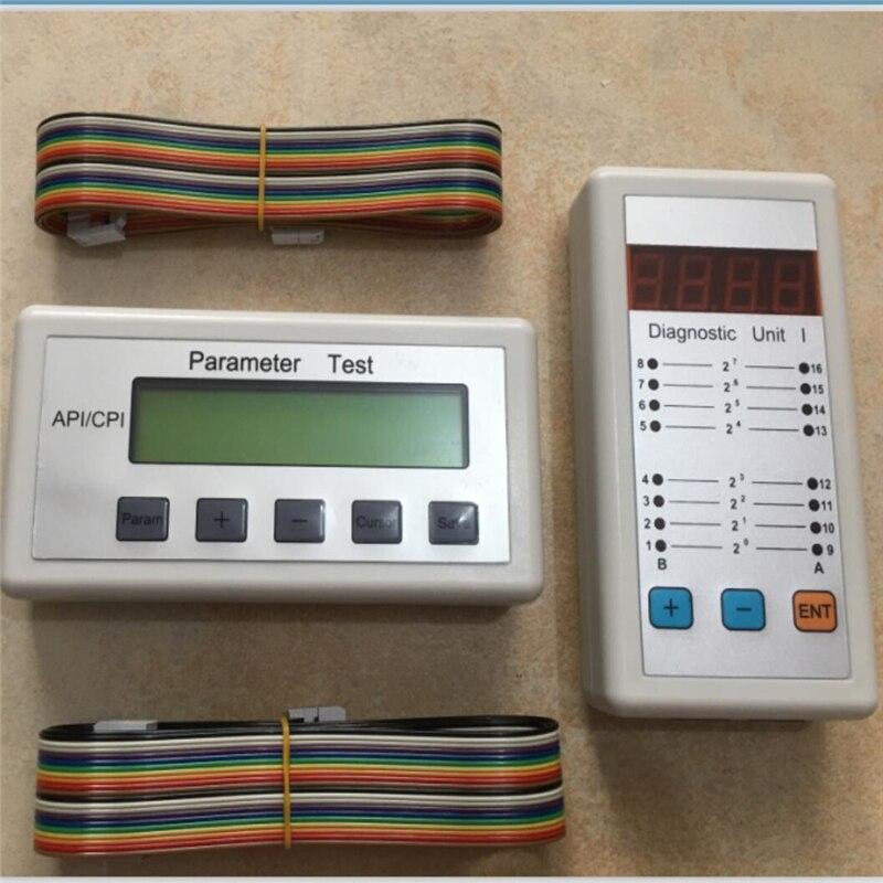 لأداة خدمة مصعد Thyssen ، أداة خدمة Thyssen ، أداة تشخيص Thyssen ، اختبار معلمة API/CPI + وحدة تشخيصية